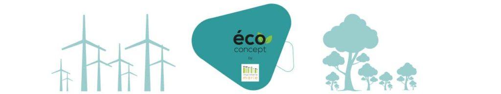 éco concept by Imprimerie Marie